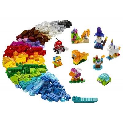 LEGO Classic 11013 Priesvitné kreatívne kocky