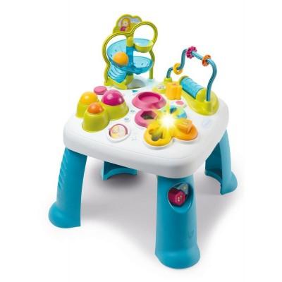 Smoby Cotoons Multifunkčný hrací stôl modrý