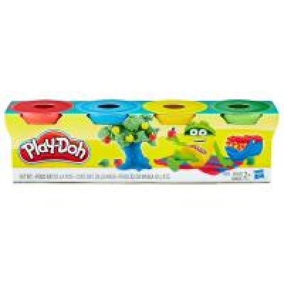 Hasbro Play Doh 4 mini tégliky
