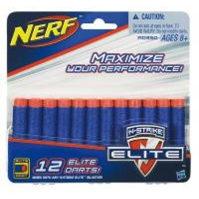 Hasbro Nerf Elite Náhradné šípky 12ks