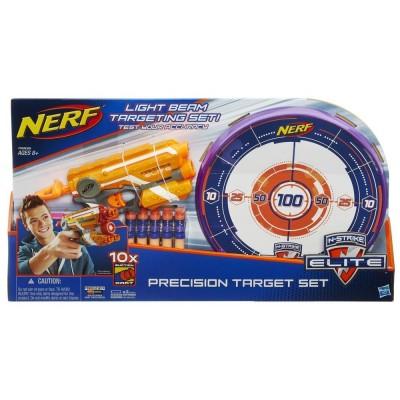 Hasbro Nerf Elite Precision s laserovým zameriavaním a terčom