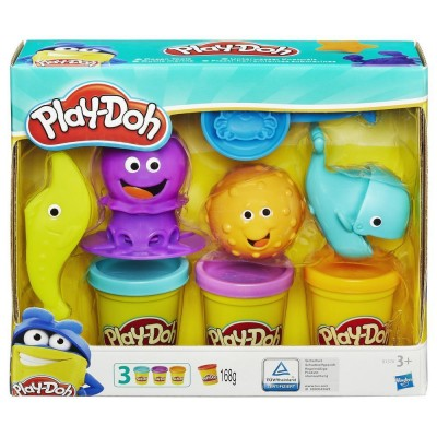Hasbro Play Doh Ocean tools