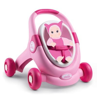 Smoby Minikiss Baby Walker 2v1