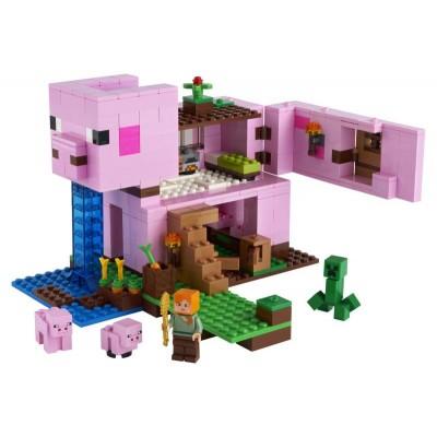 LEGO Minecraft 21170 Prasací domček