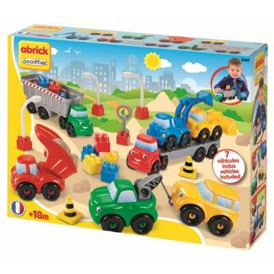 Ecoiffier 3089 Abrick Stavebné a nákladné autá