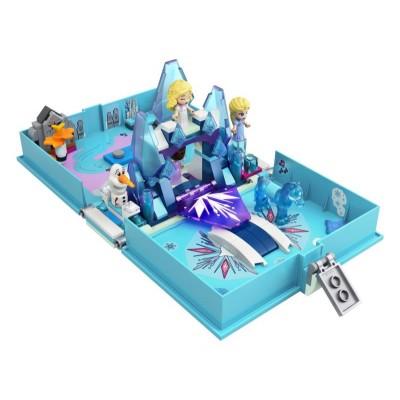LEGO Disney Frozen II 43189 Elsa a Nokk a ich rozprávková kniha dobrodružstiev