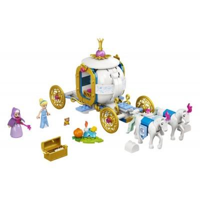 LEGO Disney Princess 43192 Popoluška a kráľovský kočiar