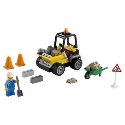 LEGO City 60284 Nákladiak cestárov