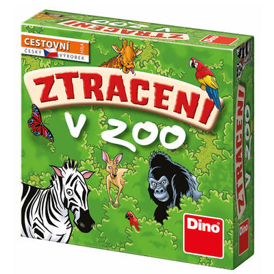 Dino Stratení v ZOO