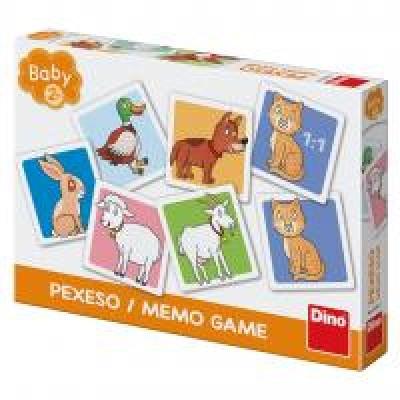 Dino Baby Pexeso Domáce zvieratká