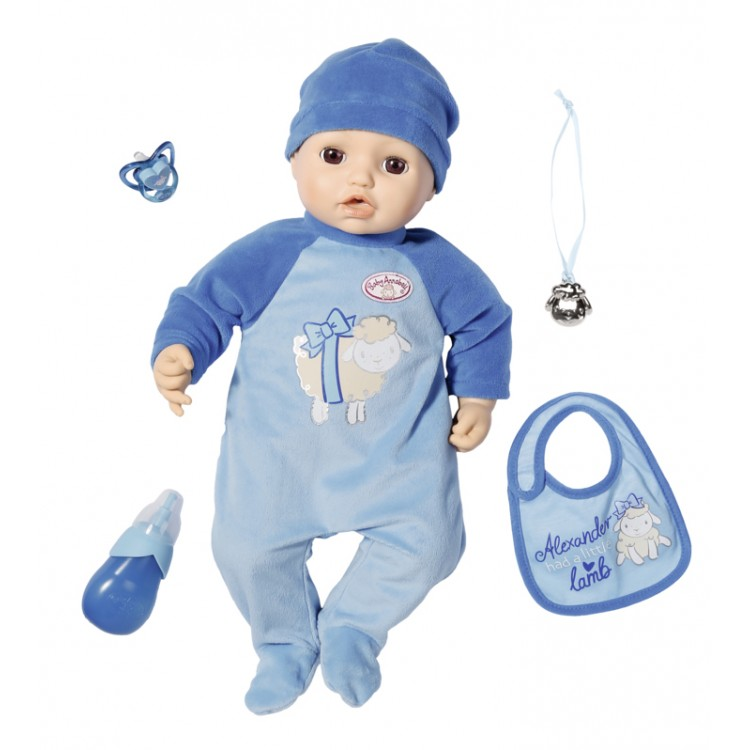 Zapf Creation Baby Annabell Alexander 43 cm