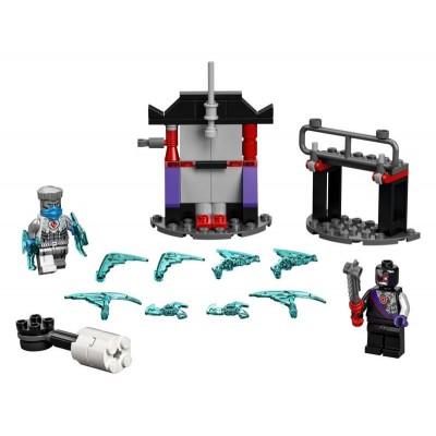 LEGO Ninjago 71731 Epický súboj – Zane vs. Nindroid