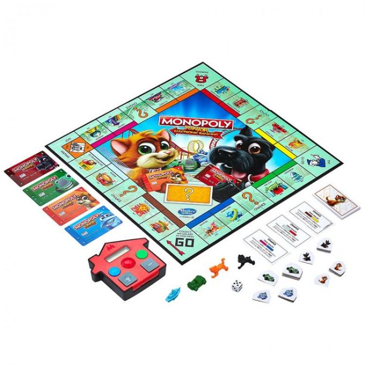 Hasbro Monopoly Junior Elektronické Bankovníctvo SK