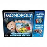 Hasbro Monopoly Super elektronické bankovníctvo SK
