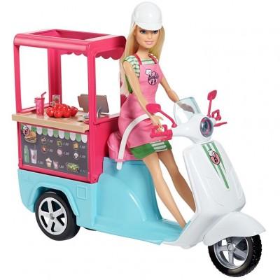 Mattel Barbie Varenie a pečenie Bistro skúter