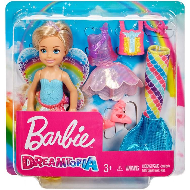 Mattel Barbie Chelsea rozprávkové oblečky a bábika