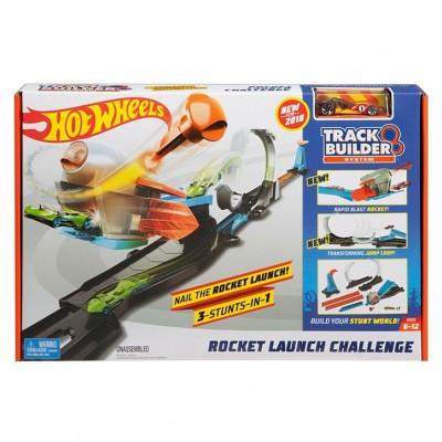 Hot Wheels Track Builder Výzva so slučkou