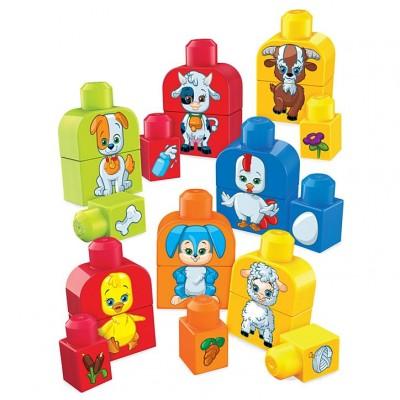 Mega Bloks Zostav si zvieratká