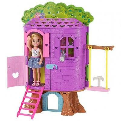 Mattel Barbie Chelsea a domček na strome