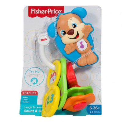 Fisher Price Psíkove kľúčiky SK