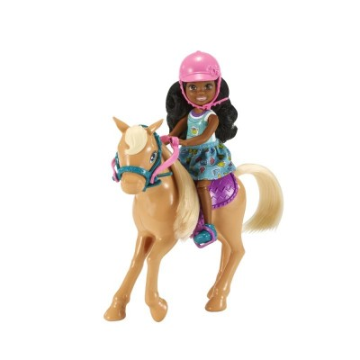 Mattel Barbie Chelsea s poníkom
