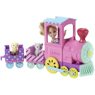 Mattel Barbie Chelsea s vláčikom