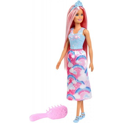 Mattel Barbie Dlhovláska s hrebeňom