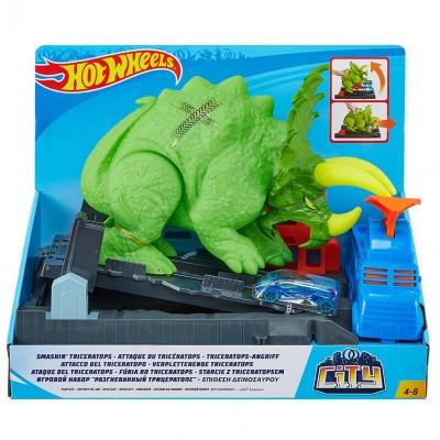 Hot Wheels City Posaď Triceratopsa