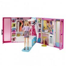 Mattel Barbie Šatník snov s bábikou
