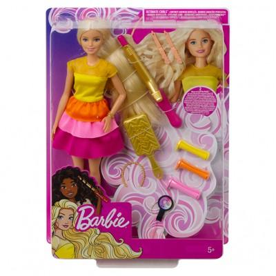 Mattel Barbie bábika s vlnitými vlasmi