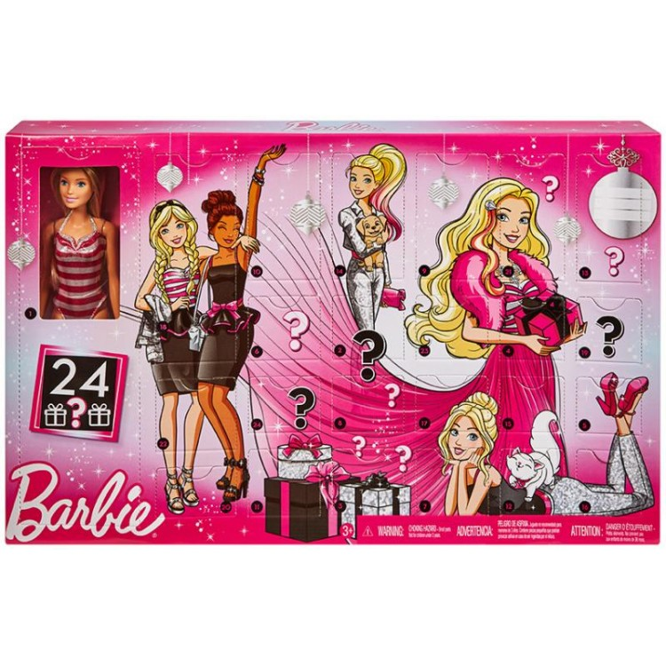 Mattel Barbie Adventný kalendár 2019