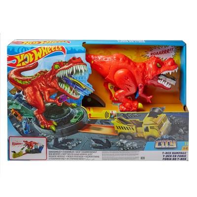 Hot Wheels City T-Rex útočí