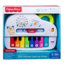 Fisher Price Hudobné piano so svetlami