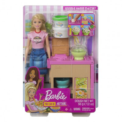 Mattel Barbie bábika a ázijská reštaurácia