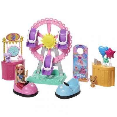 Mattel Barbie Chelsea na púti herný set