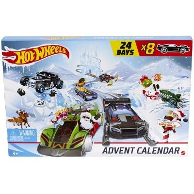 Hot Wheels Adventný kalendár 2020