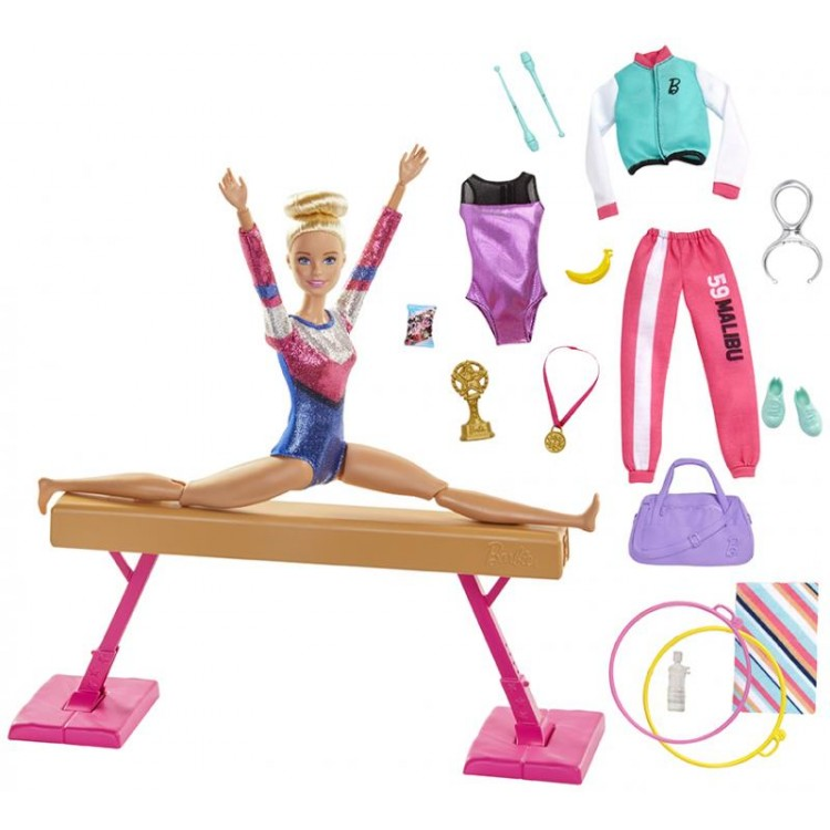 Mattel Barbie Gymnastka Herný set