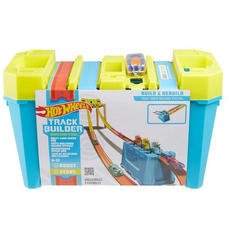Hot Wheels Track Builder Box Super zjazd