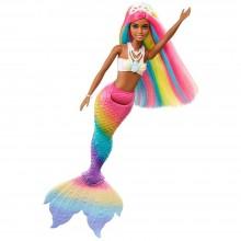 Mattel Barbie Dúhová morská panna Mulatka