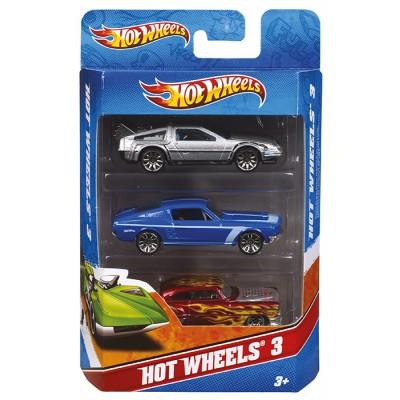 Hot Wheels Autíčka sada 3ks