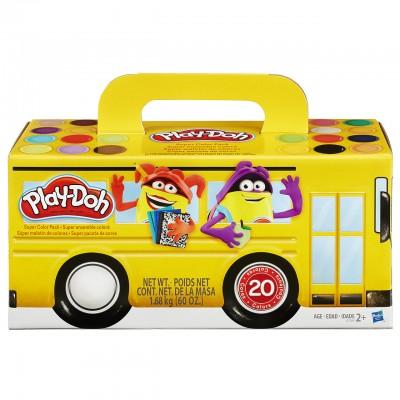 Hasbro Play Doh Veľké balenie 20 ks