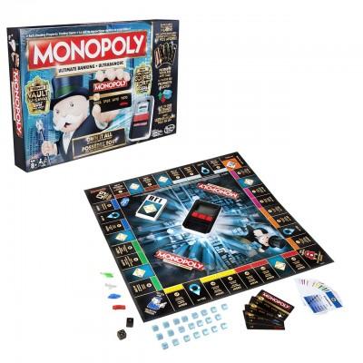 Hasbro Monopoly Elektronické Bankovníctvo SK