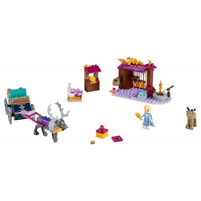 LEGO Disney Frozen II 41166 Elsa a dobrodružstvo s povozom