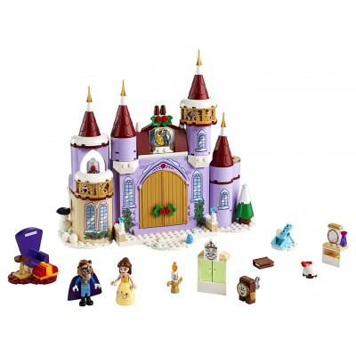 LEGO Disney Princess 43180 Bella a zimná oslava na zámku
