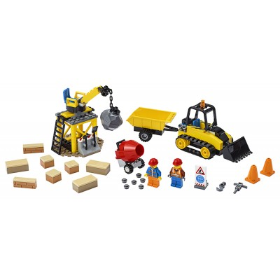 LEGO City 60252 Buldozér na stavbe