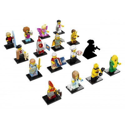 LEGO Minifigures 71018  2017 - 17. séria