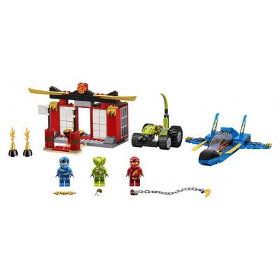 LEGO Ninjago 71703 Bitka s búrkovým štítom