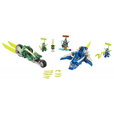 LEGO Ninjago 71709 Rýchla jazda s Jayom a Lloydom