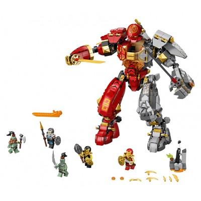 LEGO Ninjago 71720 Robot ohňa a kameňa