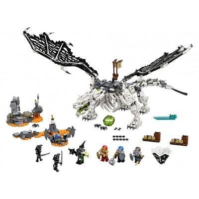 LEGO Ninjago 71721 Drak Čarodejníka lebiek